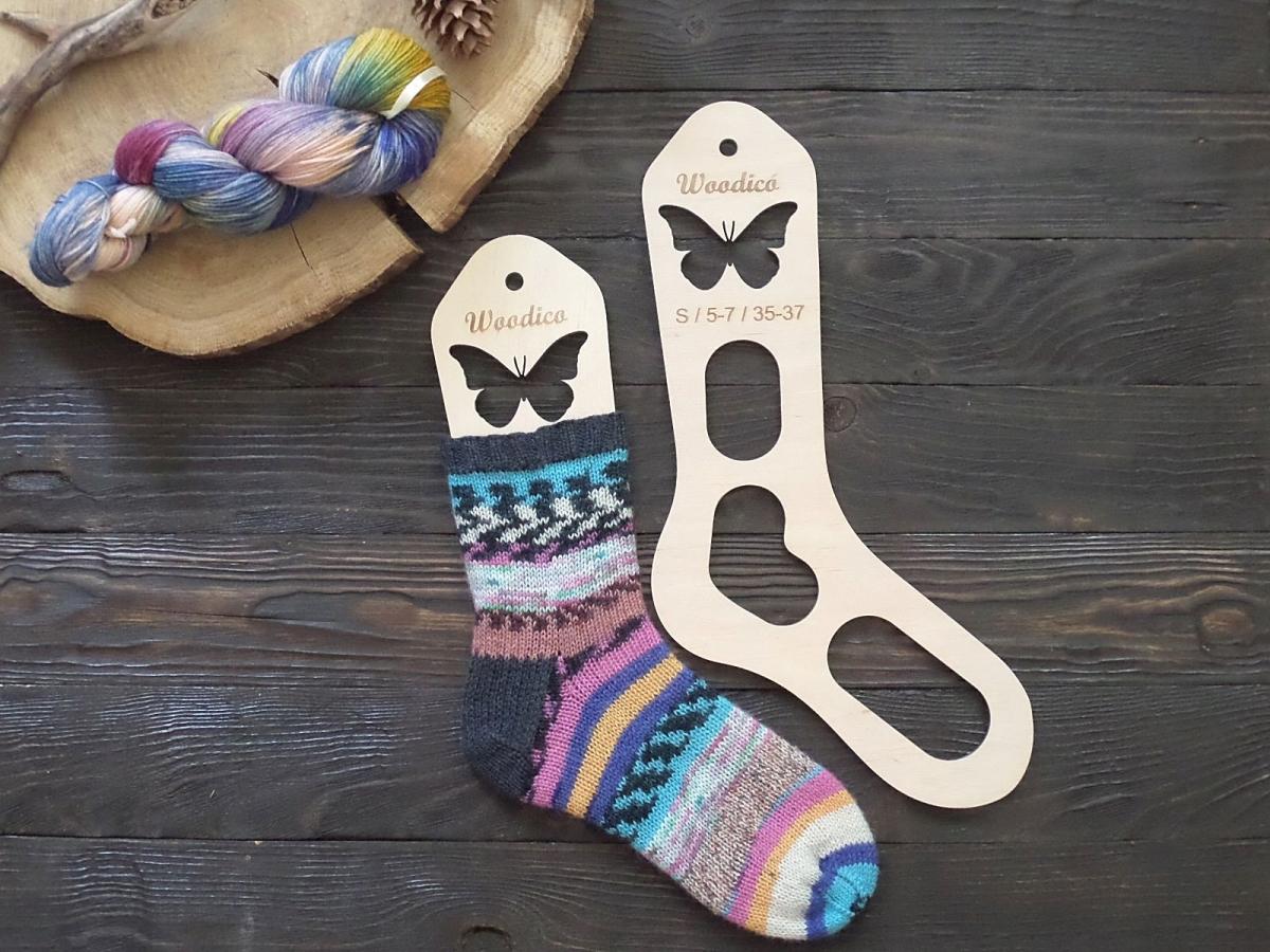 woodico.pro 1200x900 - Wooden sock blockers / Butterfly