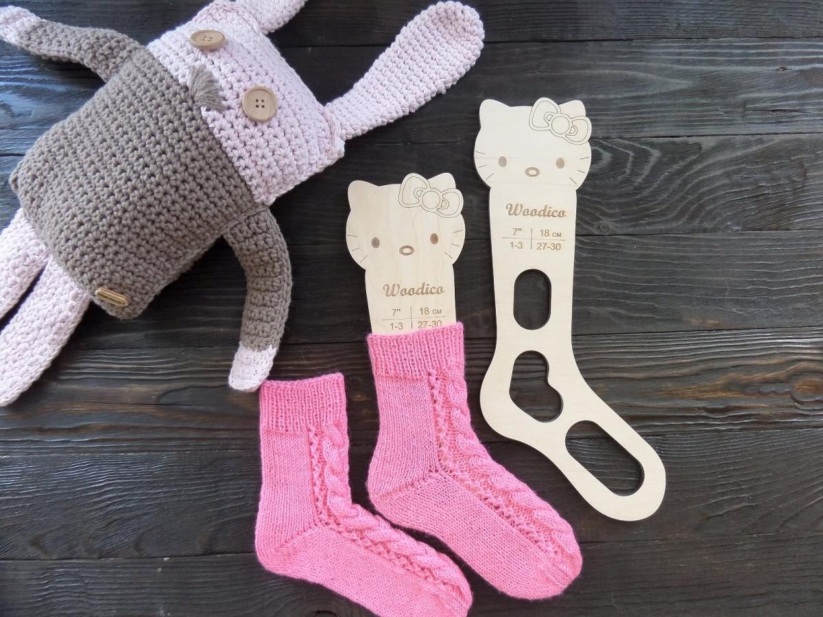 woodico.pro 29 1200x900 - Wooden baby sock blockers / Kitty
