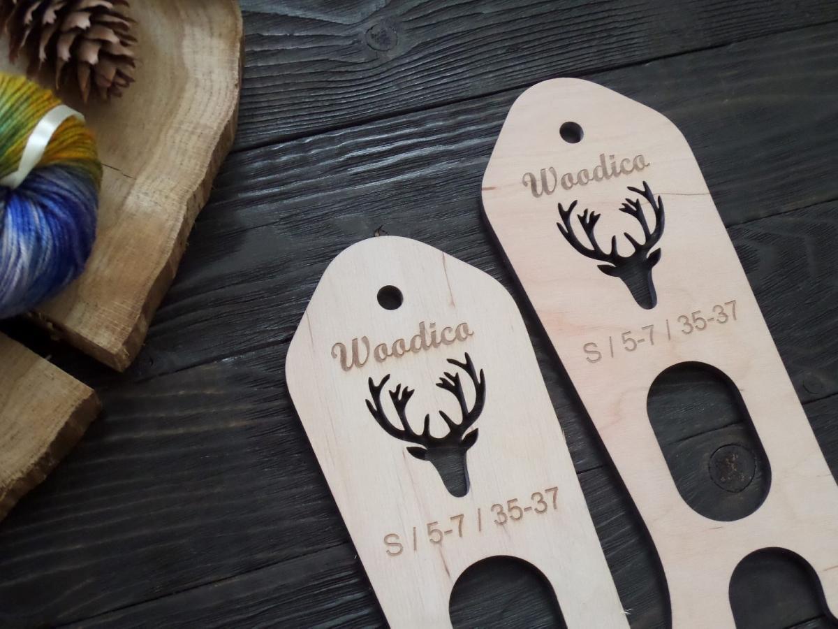 woodico.pro 6 1200x900 - Wooden sock blockers / Deer