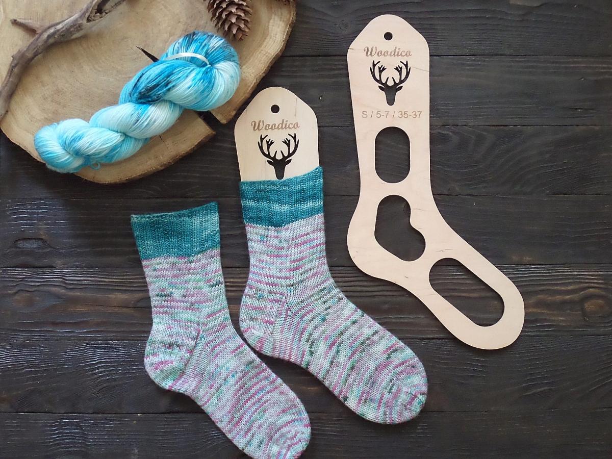 woodico.pro 9 1200x900 - Wooden sock blockers / Deer
