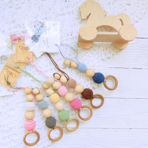 Nursing/teething necklace - first baby toy / 019 - woodico.pro nursing teething necklace 016 300x300