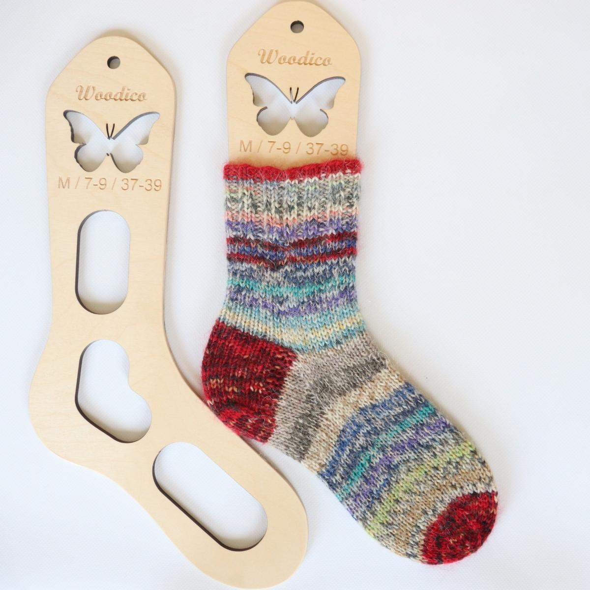 woodico.pro wooden sock blockers butterfly 12 1200x1200 - Wooden sock blockers / Butterfly