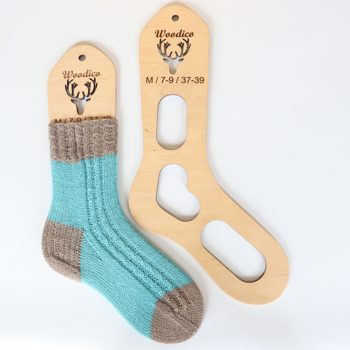 woodico.pro wooden sock blockers deer 1200x1200 - Wooden sock blockers / Deer