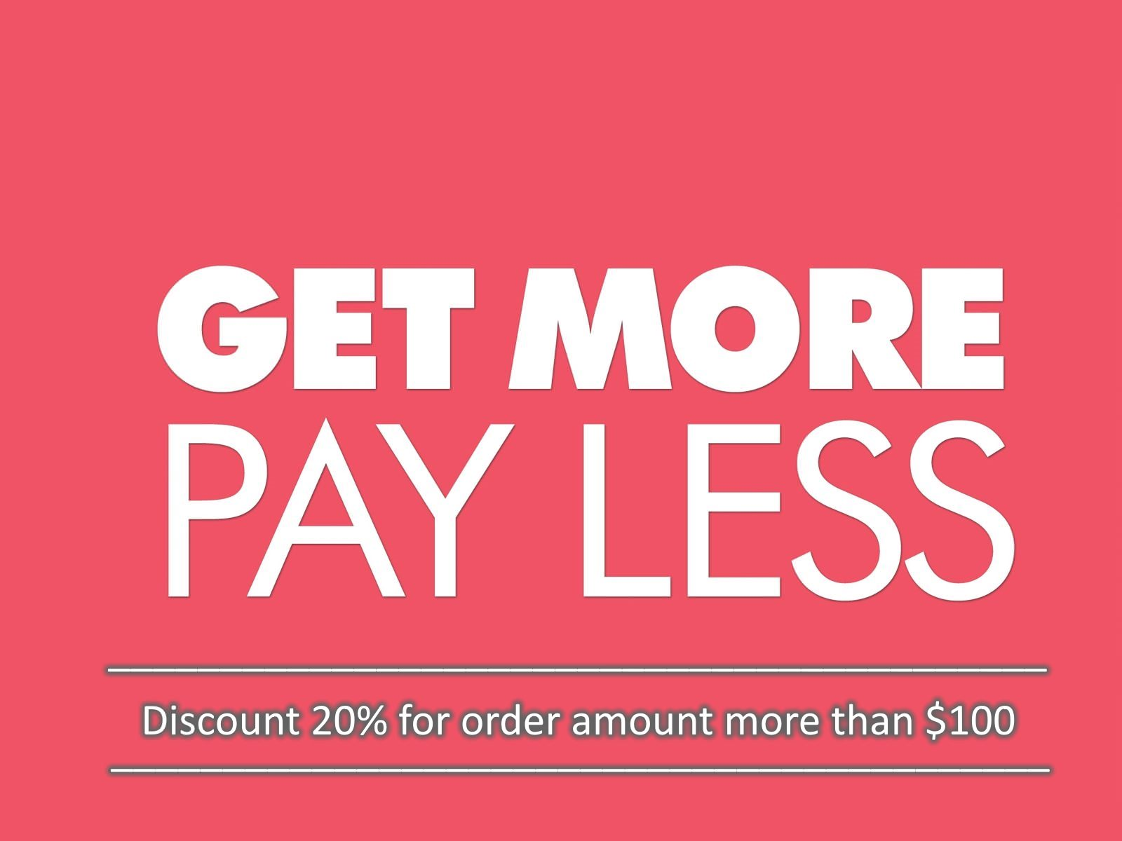 Get more – pay less - woodico.pro 2