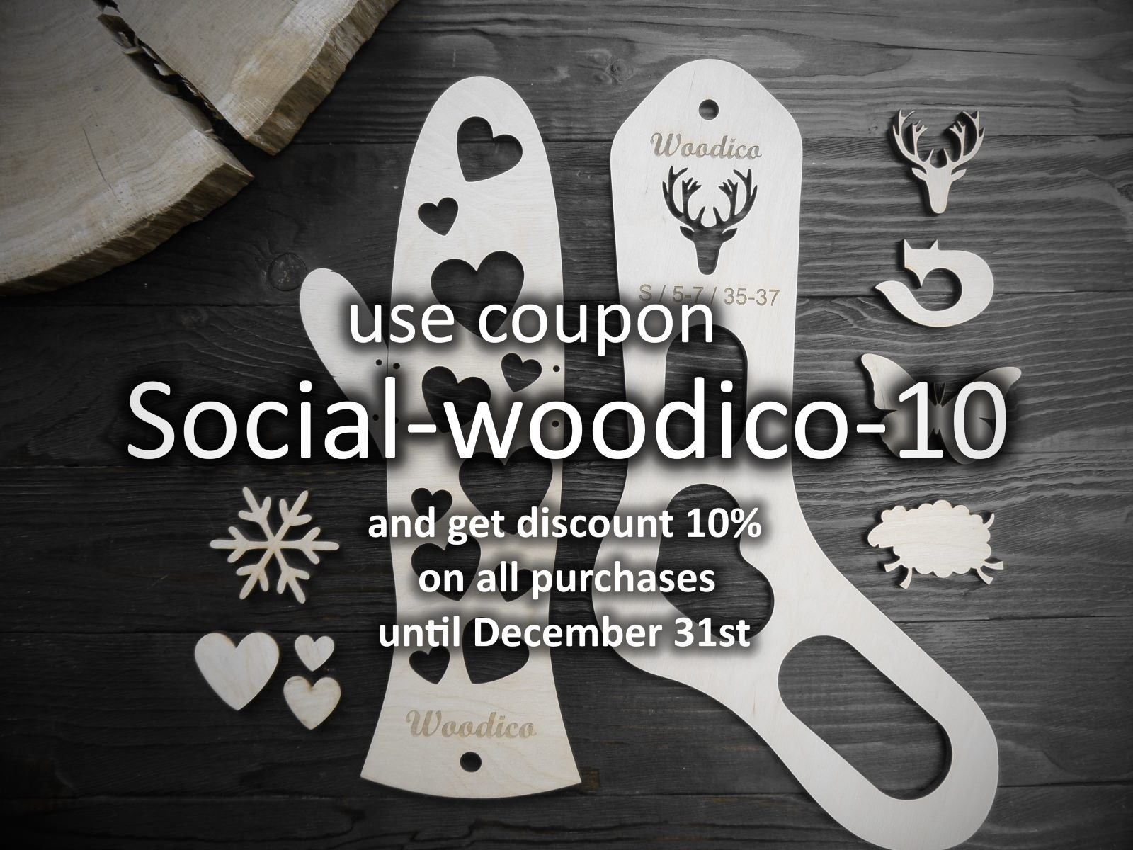 woodico.pro - Discount for readers, subscribers and friends from social networks