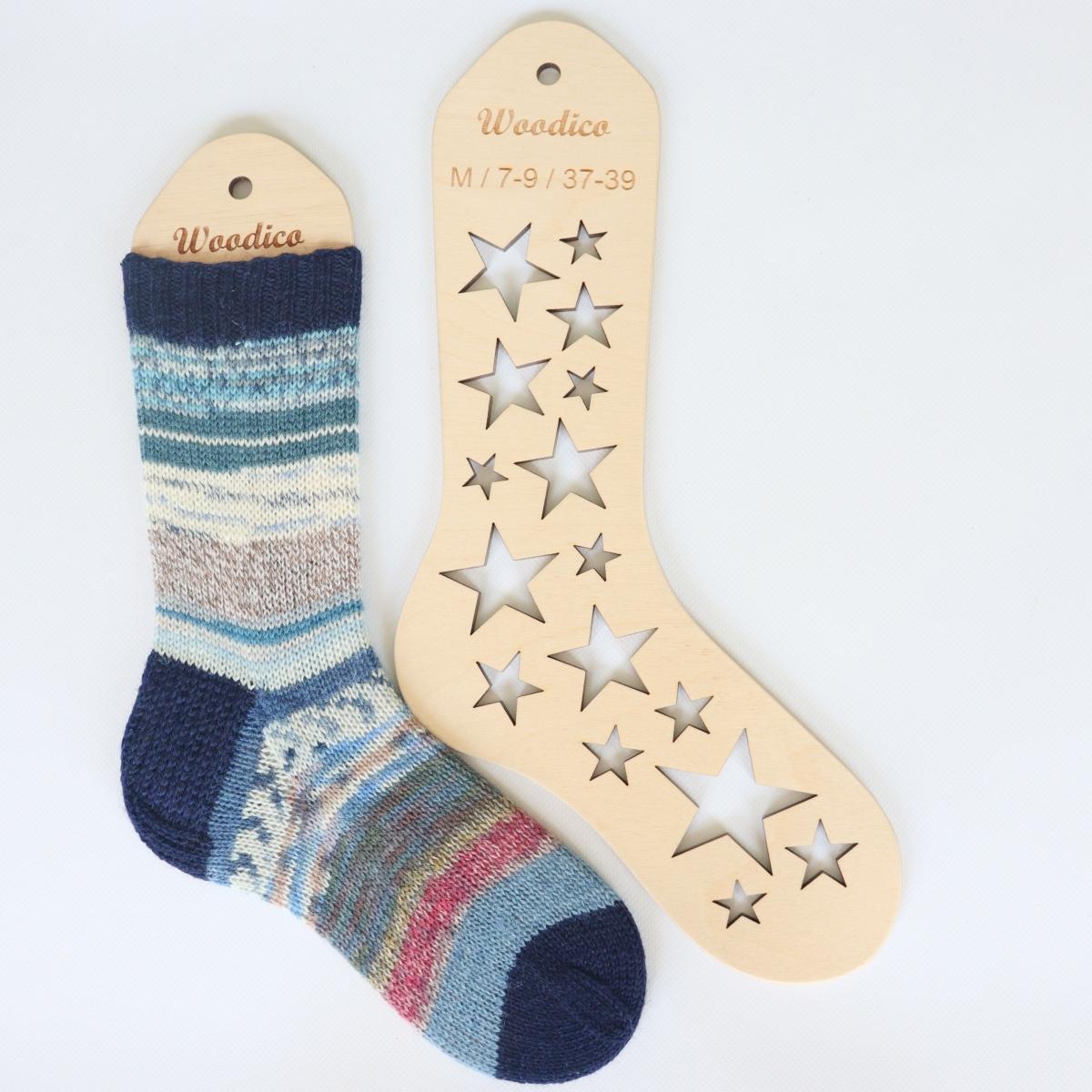 woodico.pro wooden sock blockers stars 4 1200x1200 - Wooden sock blockers / Stars
