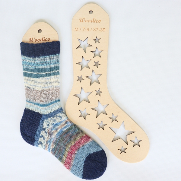 woodico.pro wooden sock blockers stars 4 600x600 - Wooden sock blockers / Stars