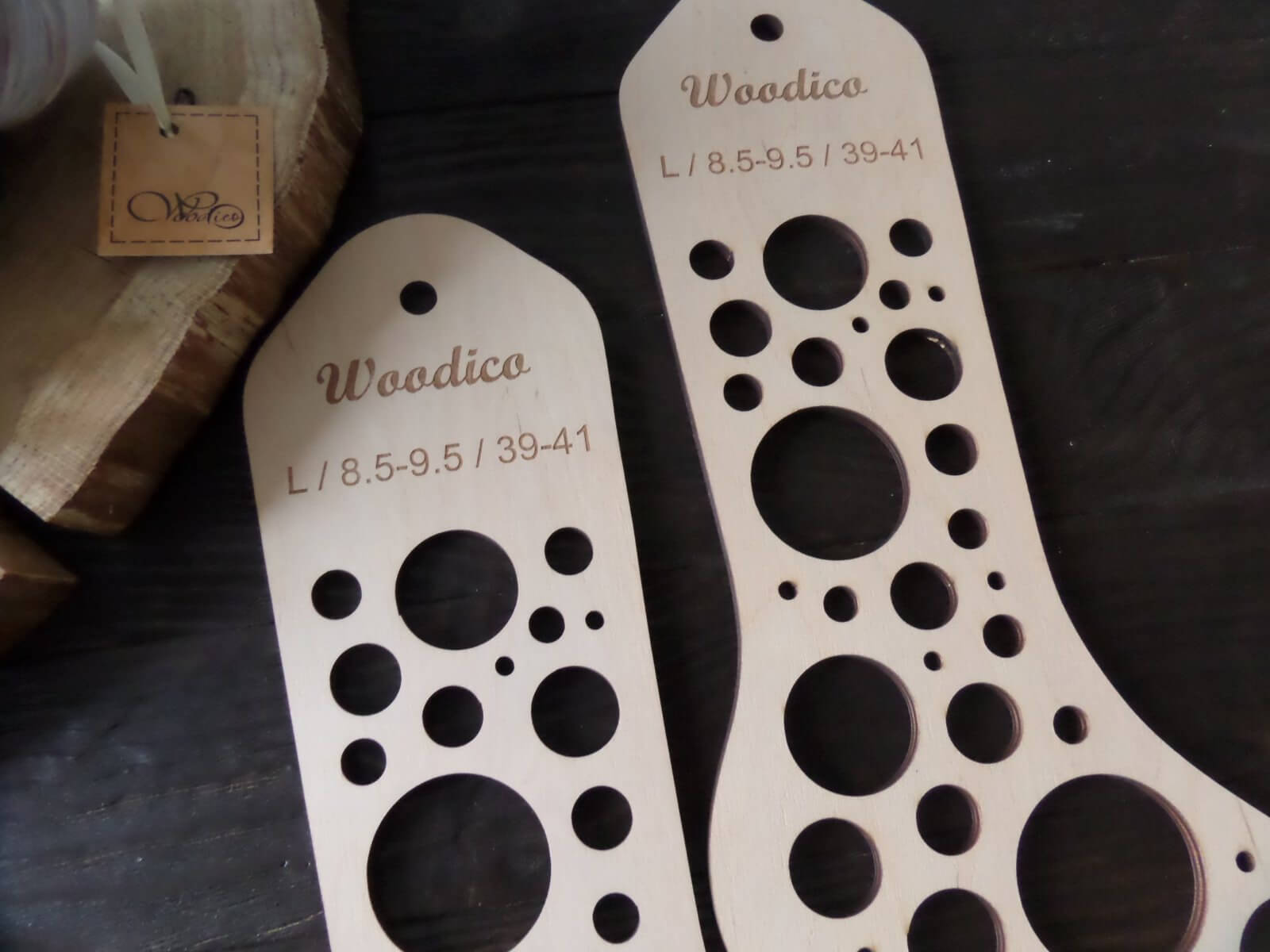 woodico.pro wooden sock blockers bubbles 1 - New product – Wooden sock blockers / Bubbles
