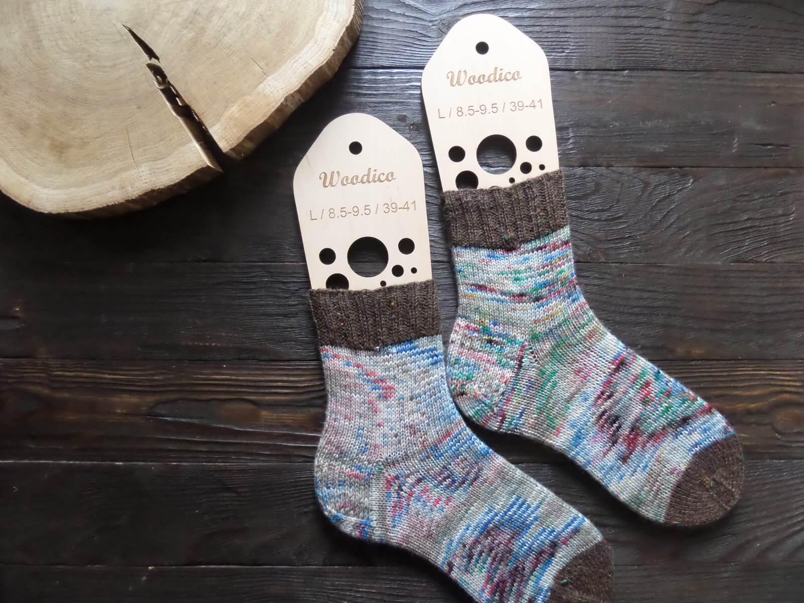 New product – Wooden sock blockers / Bubbles - woodico.pro wooden sock blockers bubbles 4