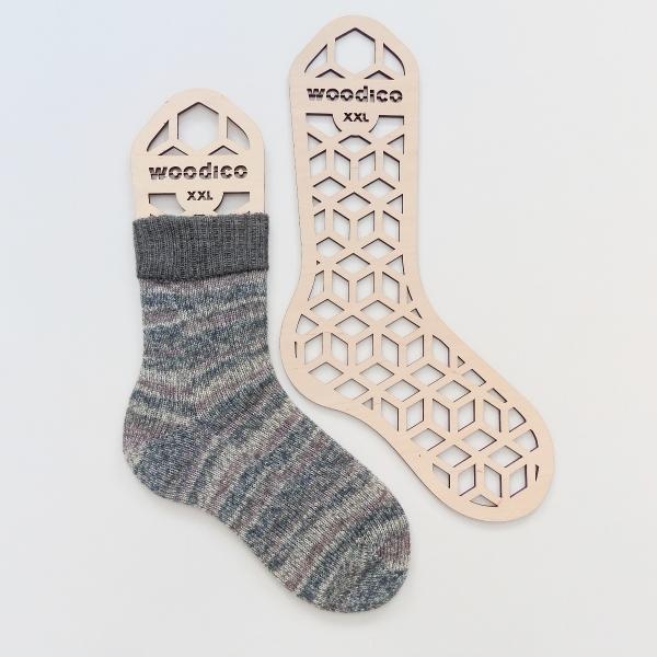 woodico.pro wooden sock blockers hexagons 600x600 - Wooden sock blockers / Hexagons