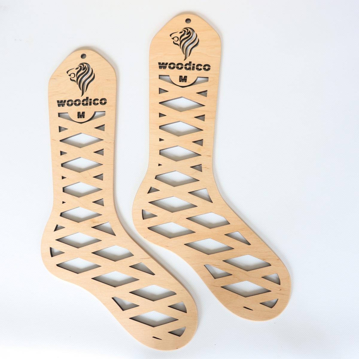 woodico.pro wooden sock blockers leo 17 1200x1200 - Wooden sock blockers / Leo