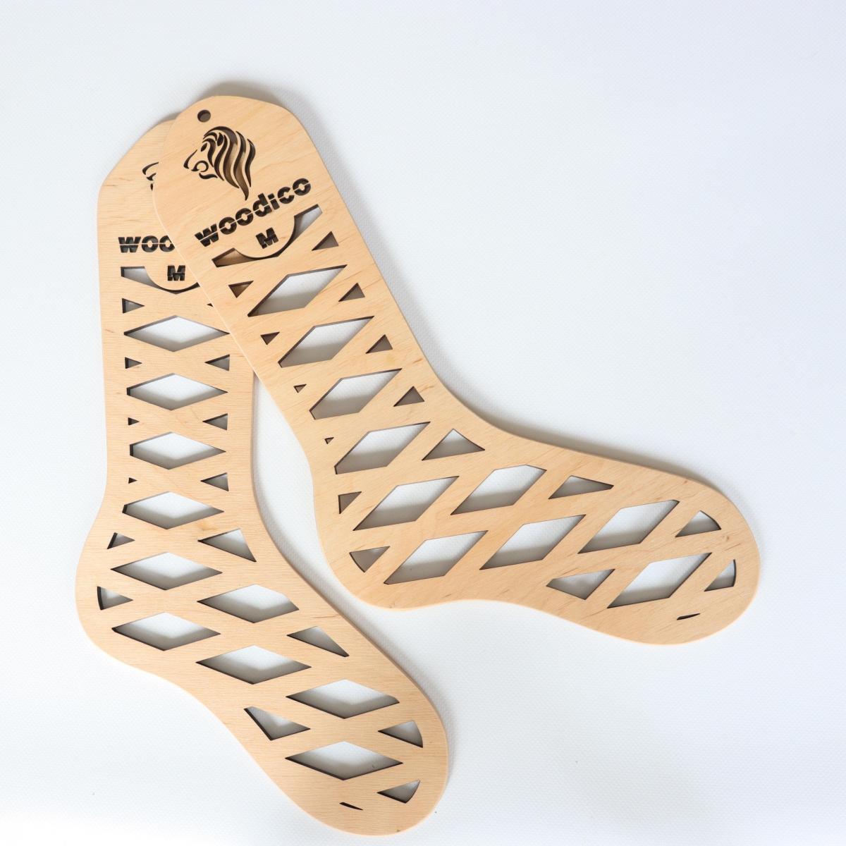 woodico.pro wooden sock blockers leo 18 1200x1200 - Wooden sock blockers / Leo