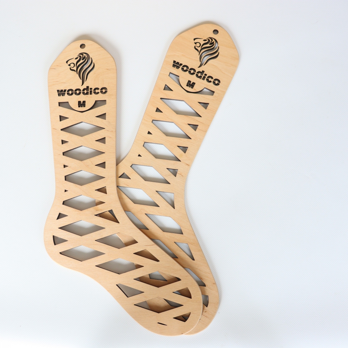 woodico.pro wooden sock blockers leo 19 1200x1200 - Wooden sock blockers / Leo