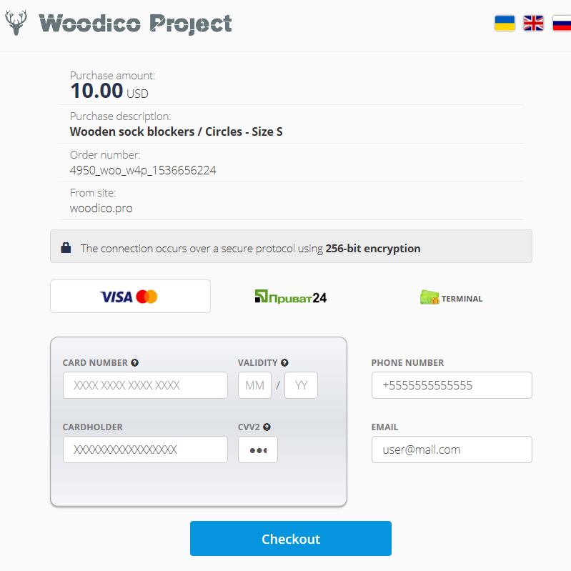 woodico.pro now you can pay with visa and mastersard 2 - Now you can pay with Visa and MasterСard