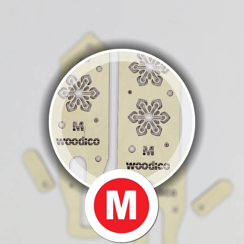 woodico.pro wooden mitten blockers crystal flakes 3 - Wooden mitten blockers / Nordic Crystal Flakes