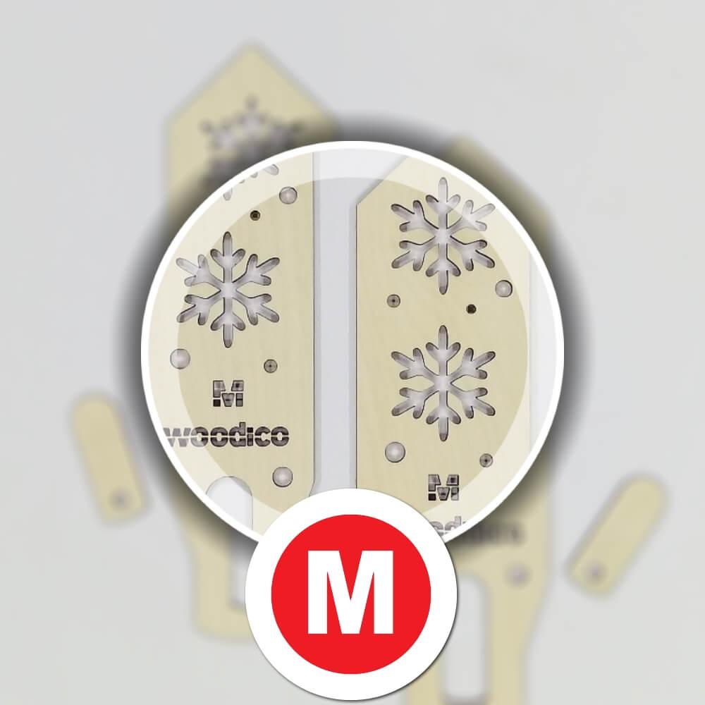 woodico.pro wooden mitten blockers nordic snowflakes 3 - Wooden mitten blockers / Nordic Snowflakes