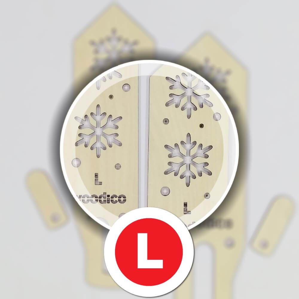 woodico.pro wooden mitten blockers nordic snowflakes 4 - Wooden mitten blockers / Nordic Snowflakes