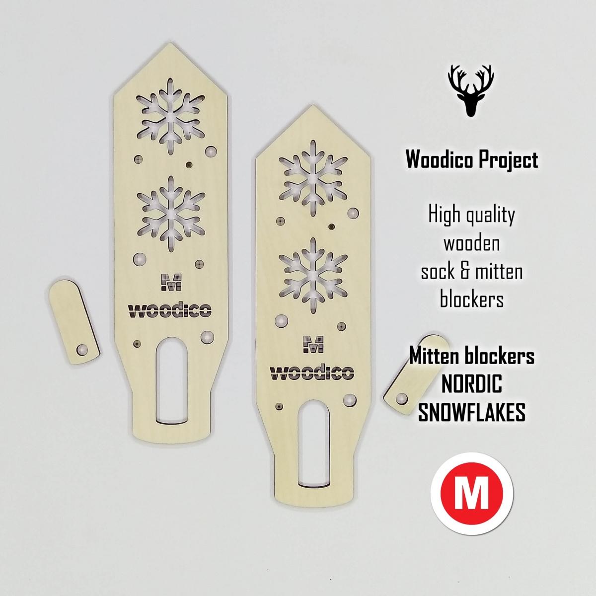 woodico.pro wooden mitten blockers nordic snowflakes 6 1200x1200 - Wooden mitten blockers / Nordic Snowflakes