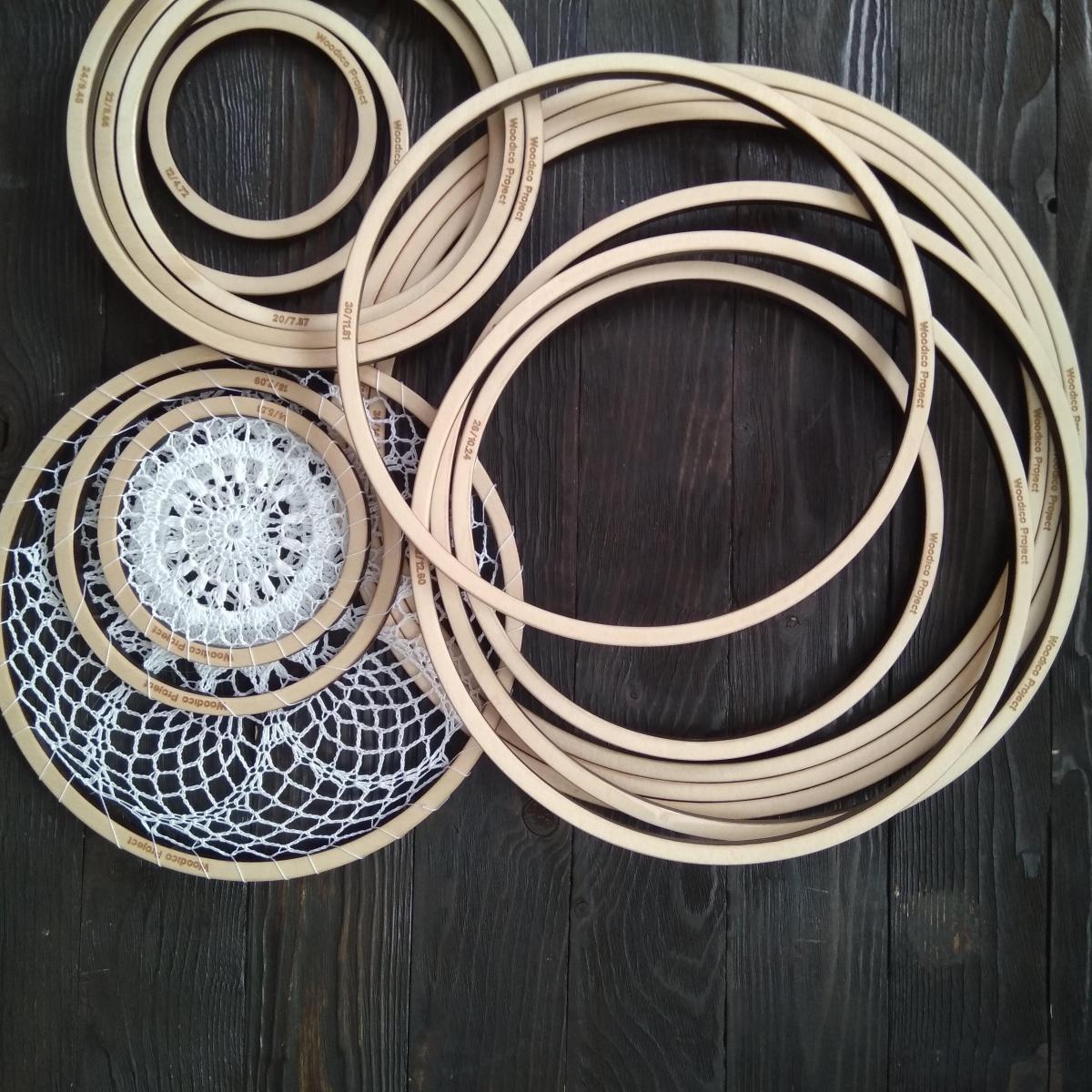 woodico.pro dream catcher base set of 15 rings 12 40 cm 1 1200x1200 - Dream catcher base / Set of 15 rings 12-40 cm