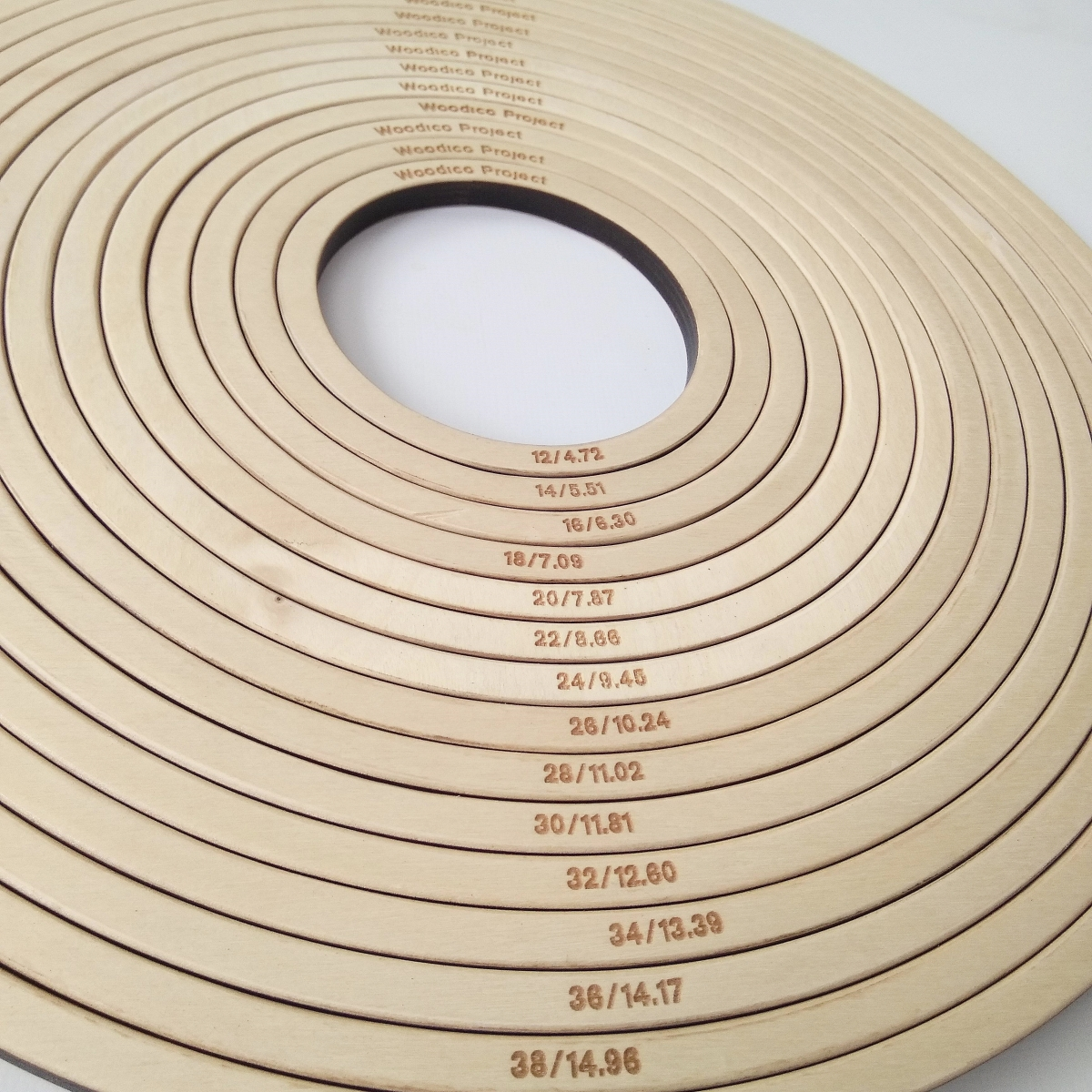 woodico.pro dream catcher base set of 15 rings 12 40 cm 12 1200x1200 - Dream catcher base / Set of 15 rings 12-40 cm