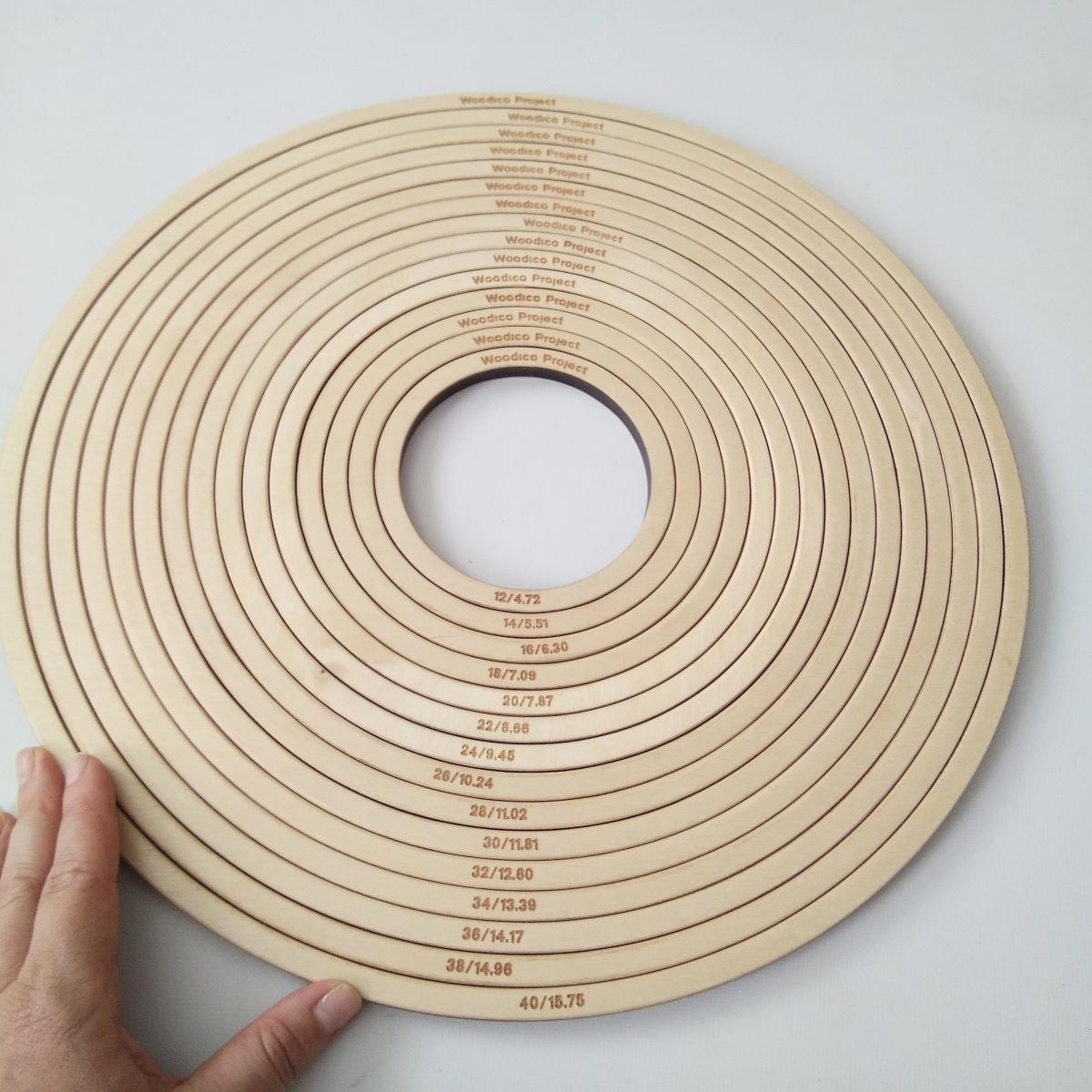 woodico.pro dream catcher base set of 15 rings 12 40 cm 16 1200x1200 - Dream catcher base / Set of 15 rings 12-40 cm