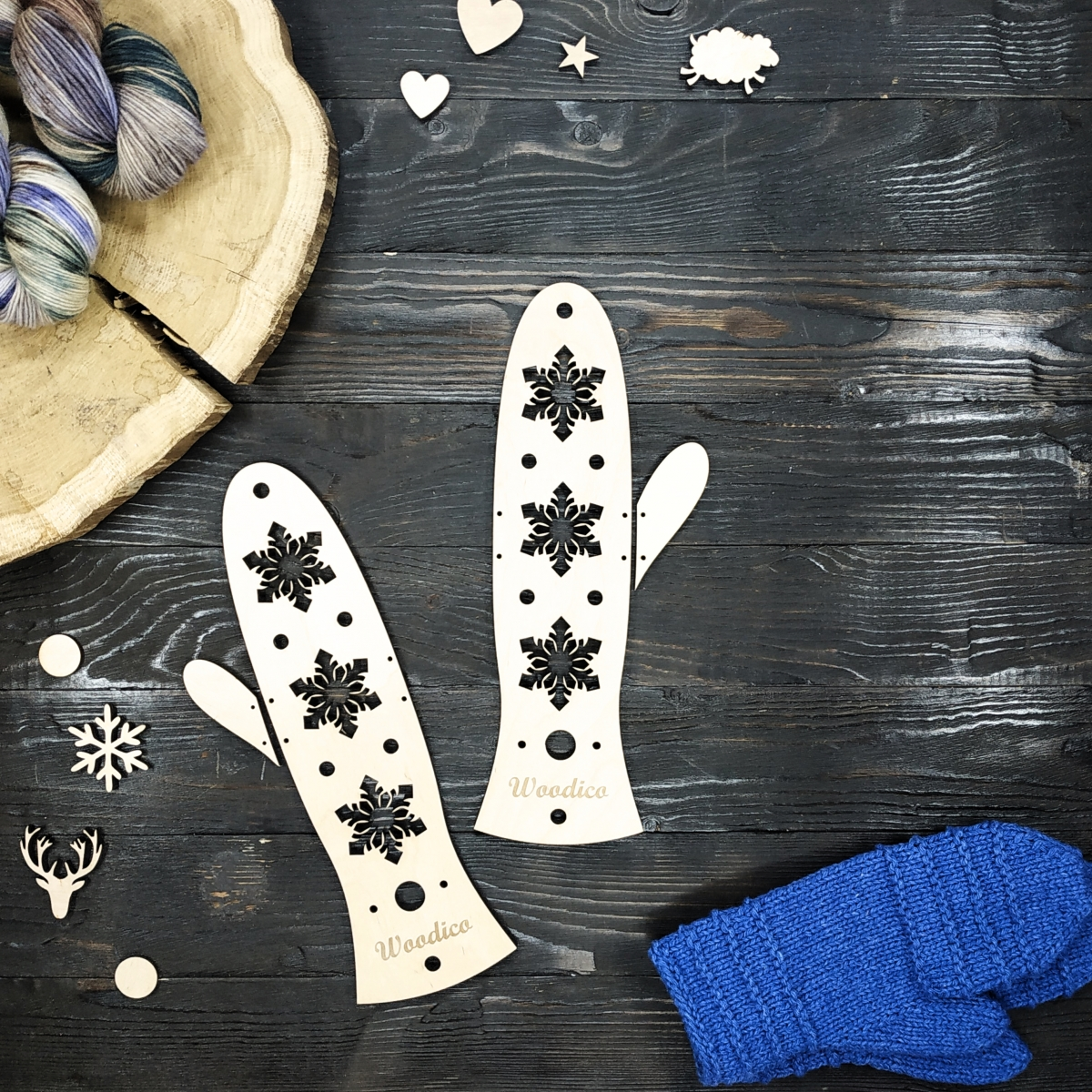 woodico.pro wooden mitten blockers ice 1 1200x1200 - Wooden mitten blockers / Ice