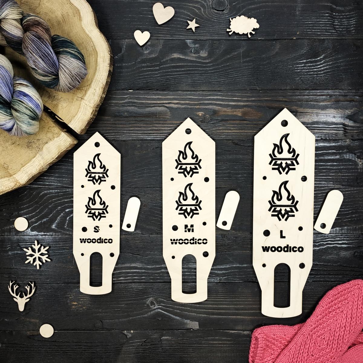 woodico.pro wooden mitten blockers nordic hot cold 2 1200x1200 - Wooden mitten blockers / Nordic Hot&Cold