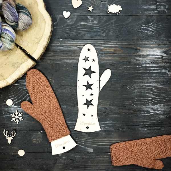 woodico.pro wooden mitten blockers stars 600x600 - Wooden mitten blockers / Stars