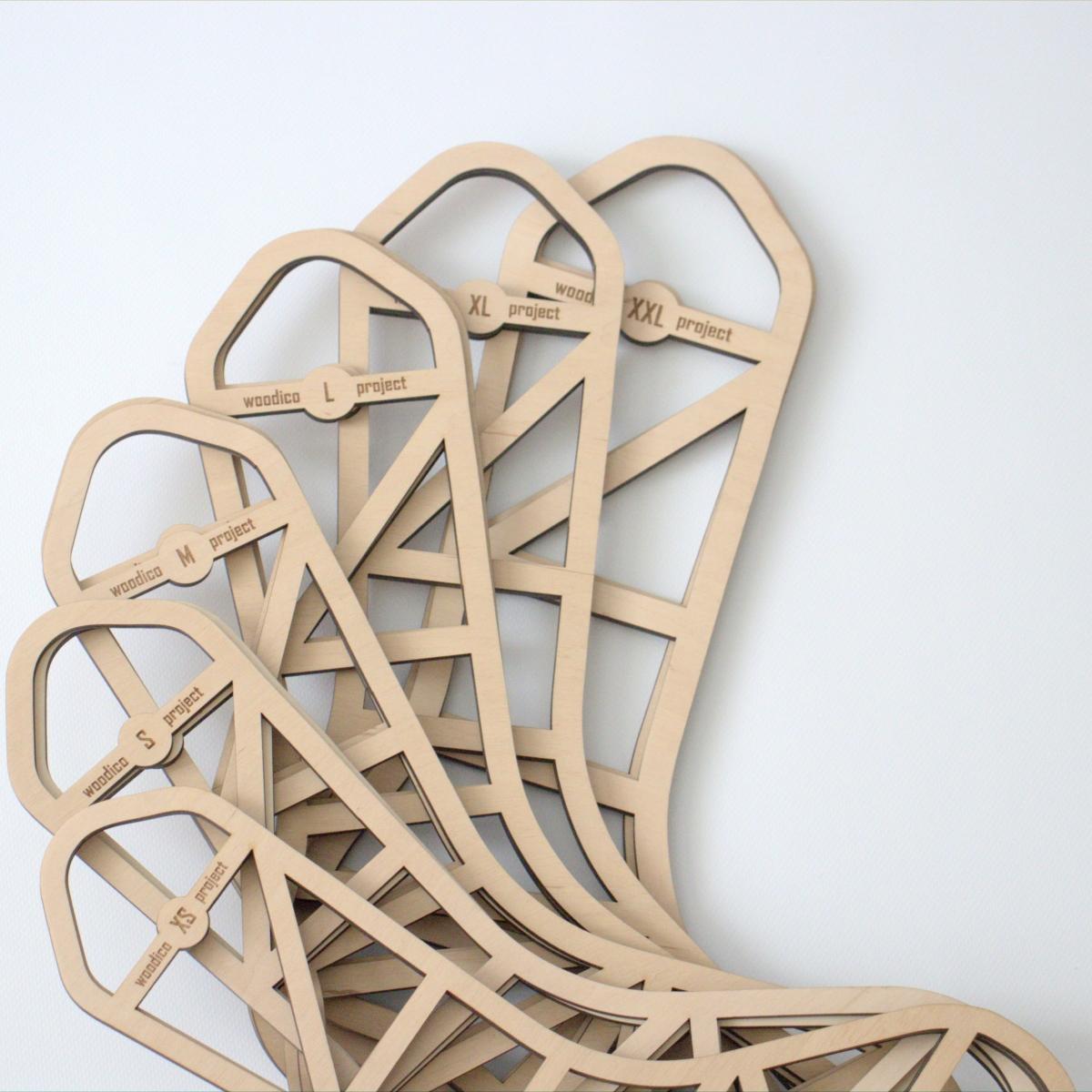 woodico.pro wooden sock blockers zen 5 1200x1200 - Wooden sock blockers / Zen