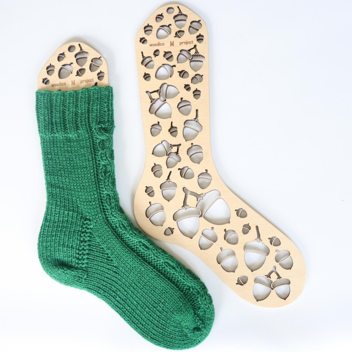 woodico.pro wooden sock blockers acorns 1200x1200 - Wooden sock blockers / Acorns