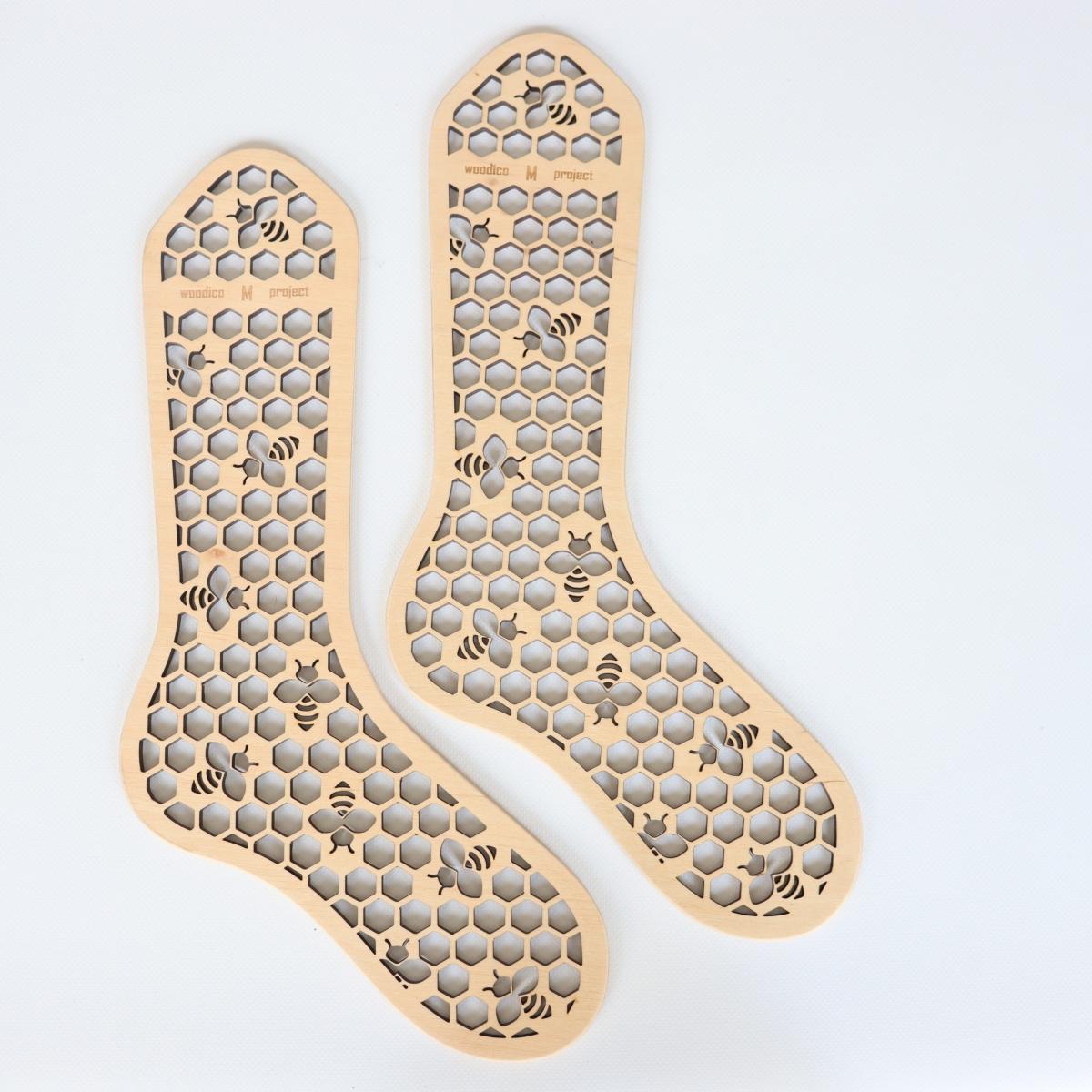 woodico.pro wooden sock blockers hooneycomb 1 1200x1200 - Wooden sock blockers / Honeycomb