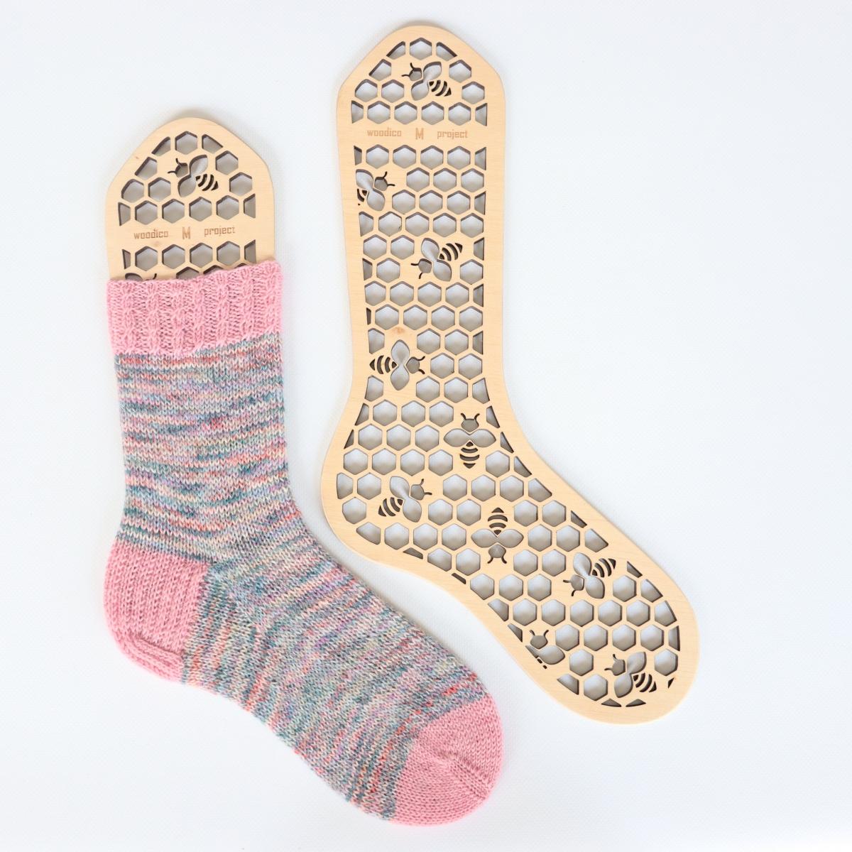 woodico.pro wooden sock blockers hooneycomb 1200x1200 - Wooden sock blockers / Honeycomb