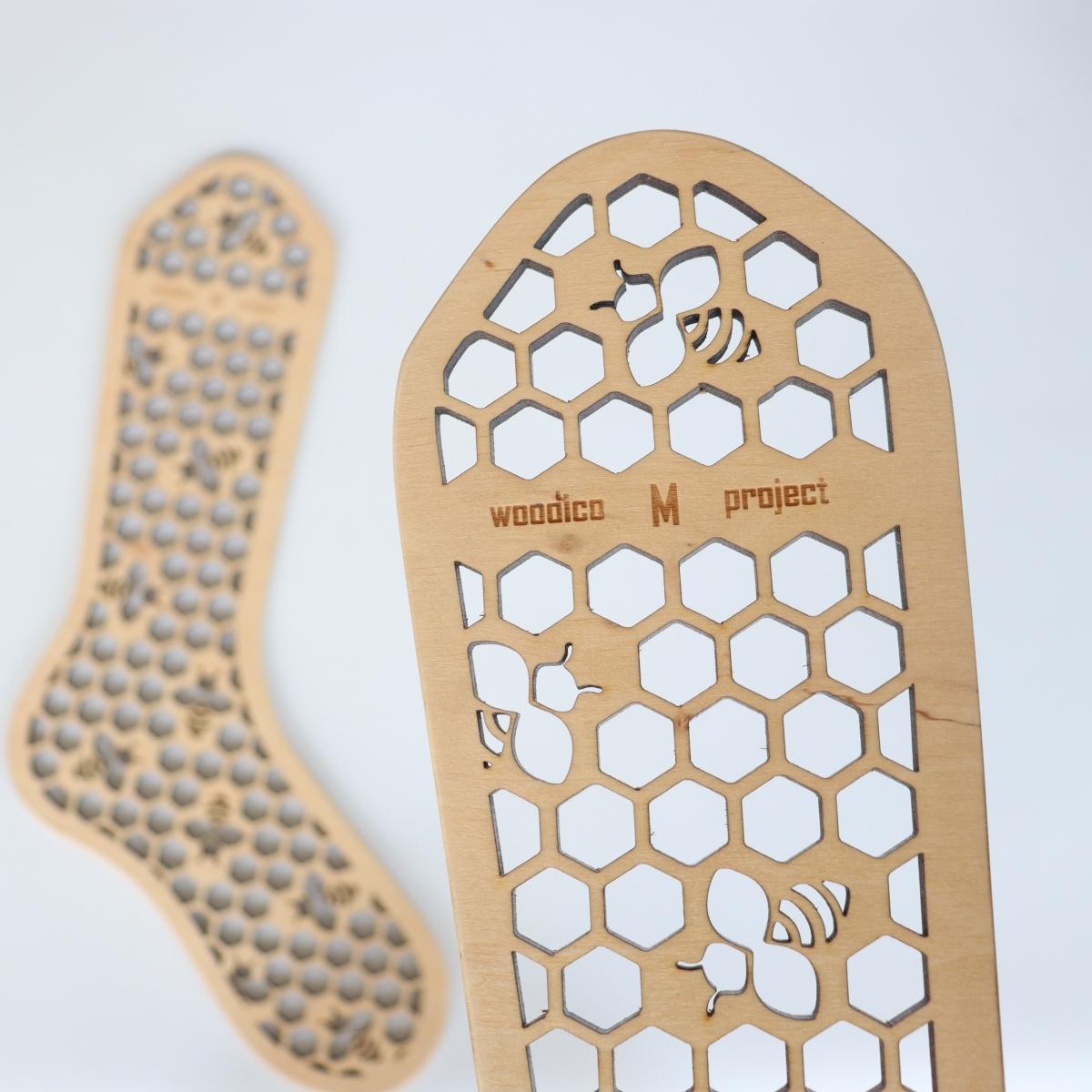 woodico.pro wooden sock blockers hooneycomb 3 1200x1200 - Wooden sock blockers / Honeycomb
