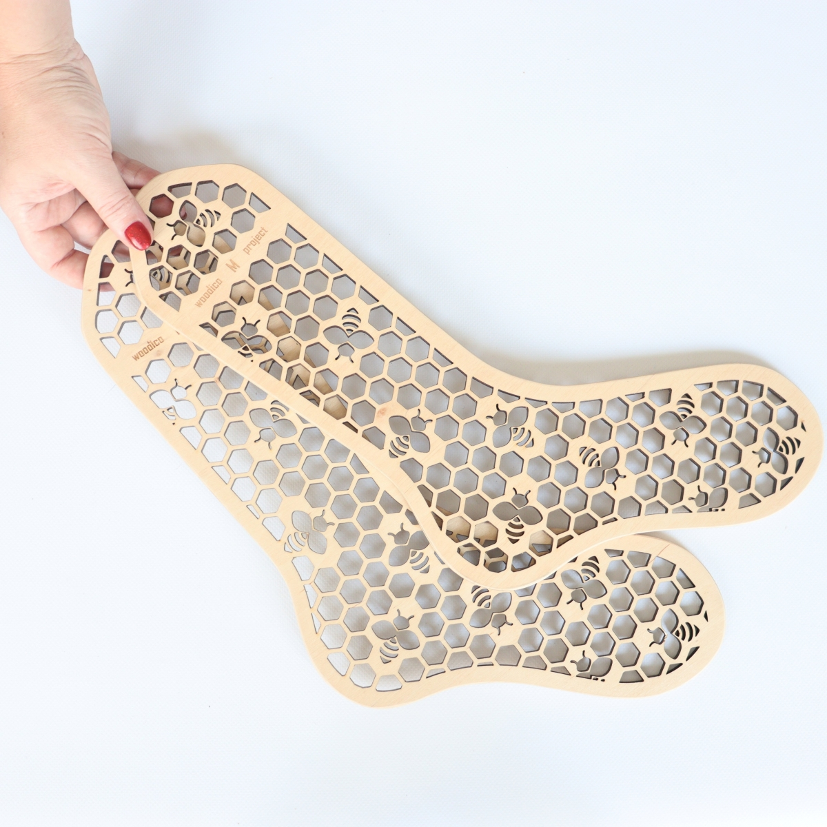 woodico.pro wooden sock blockers hooneycomb 7 1200x1200 - Wooden sock blockers / Honeycomb
