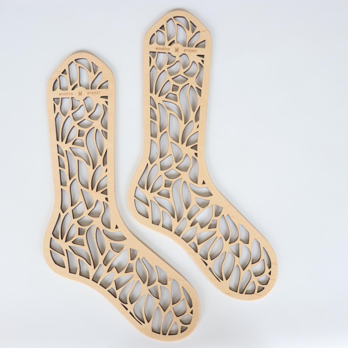 woodico.pro wooden sock blockers leaf fall 1 1200x1200 - Wooden sock blockers / Leaf Fall