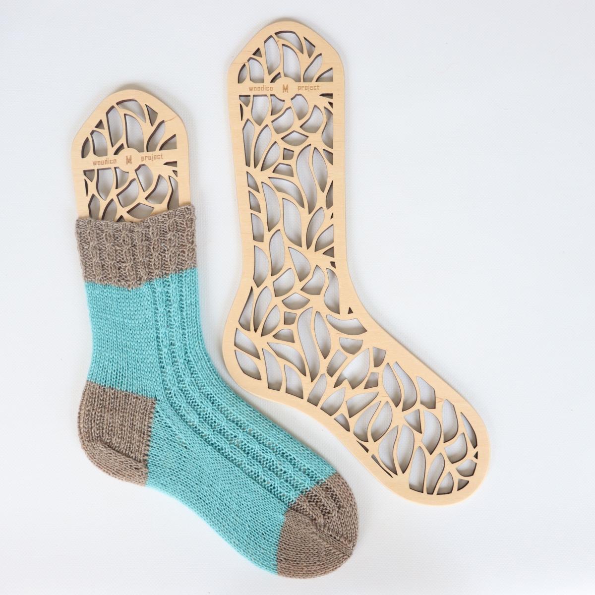 woodico.pro wooden sock blockers leaf fall 1200x1200 - Wooden sock blockers / Leaf Fall
