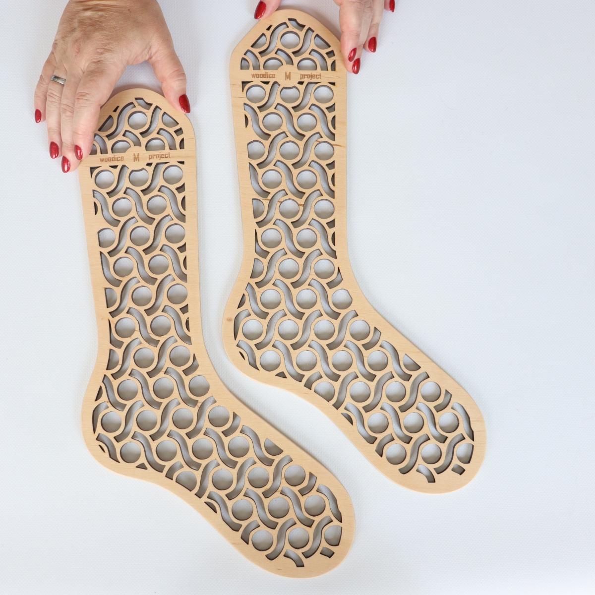 woodico.pro wooden sock blockers pasta 5 1200x1200 - Wooden sock blockers / Pasta